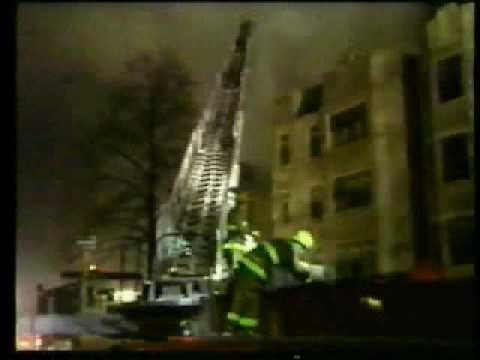 Evanston,Il.Condo Fire Inferno.AVI