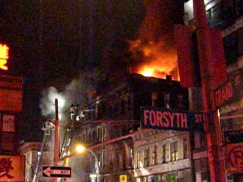 Manhattan 7-Alarm Fire