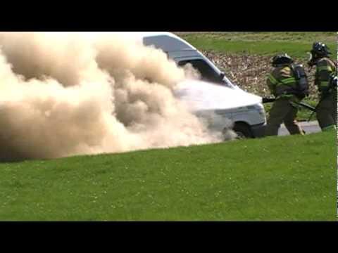 Lower Nazareth Vehicle Fire 4-9-10
