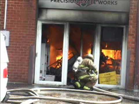 Beltsville (MD) Building Fire