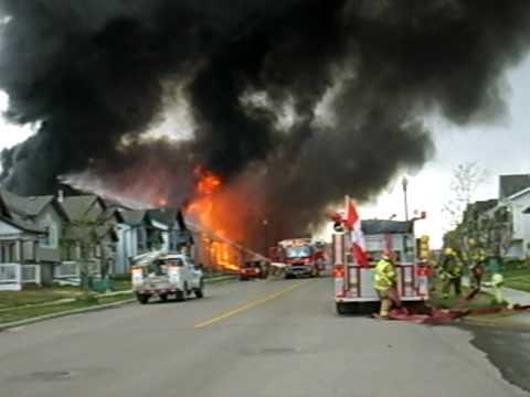 Alberta (Canada) House Fire