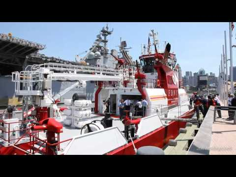 FDNY Commissions New Fireboat
