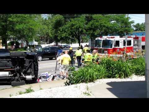 Vehicle Flipped