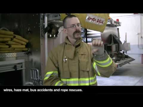 SCOTT HORNBECK, DEAF VOLUNTEER FIREFIGHTER WITH CAPTIONS
