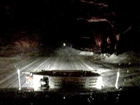 Engine/Tanker 22 responding in snow storm
