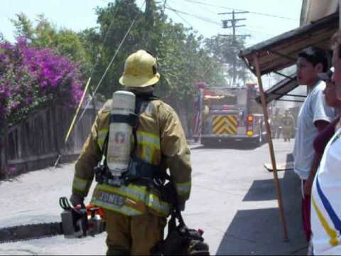 L.A. County Garage Fire