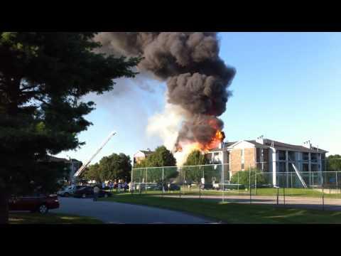 Urbandale (IA) Condo Fire