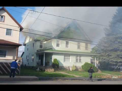 Taylor (PA) 2-Alarm Fire