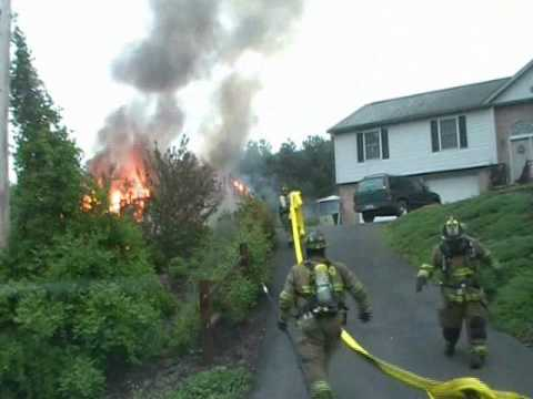 Lake Wynonah (PA) Structure Fire