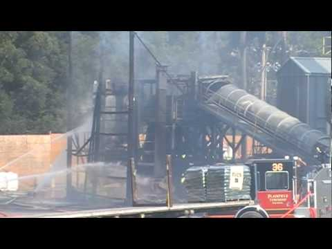 Plainfield Twp Building Fire 7-6-10