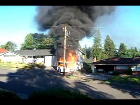 Washington RV Fire Spread