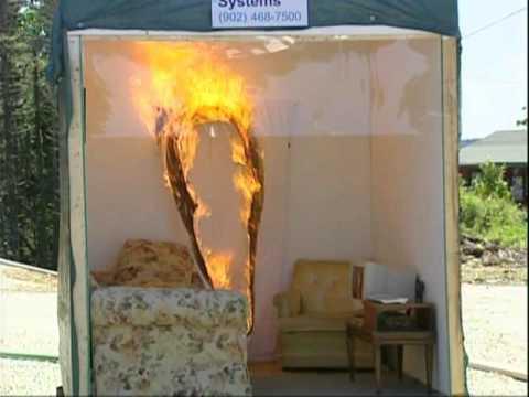 Live Fire Sprinkler Demonstration