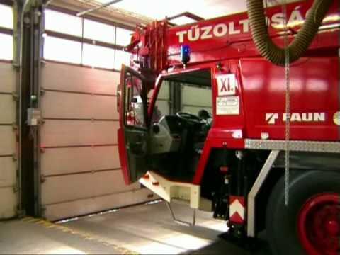 Fire Rescue Crane - Budapest, Hungary