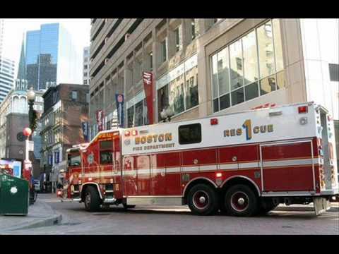 Boston fire tribute