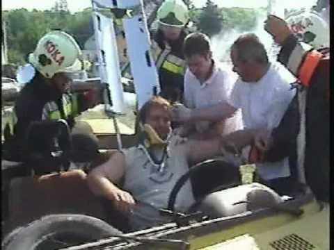 Technical rescue demonstration, volunteer fire brigade of Kóka