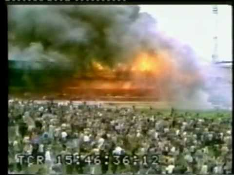 FLASHBACK: Bradford Football Disaster - RAW FOOTAGE