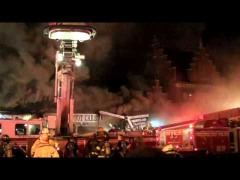 FDNY 4 ALARM FIRE FLATBUSH AVE AND FLATLANDS (BROOKLYN NY) S