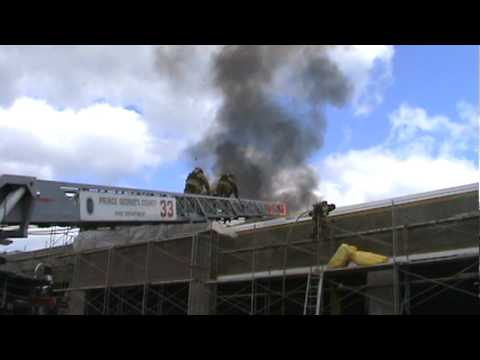 Md. Construction Site Fire