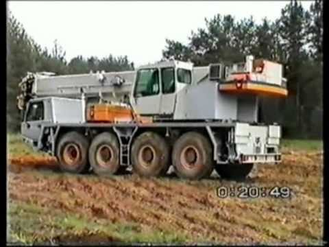Tadano Faun ATF 60-4 Fire Rescue Crane - in terrain