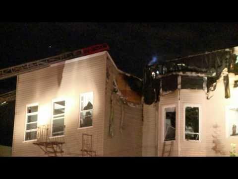 Bronx 3-Alarm Fire