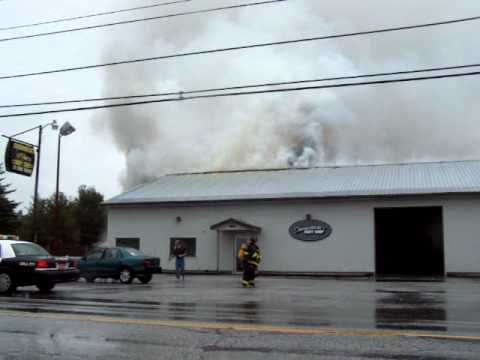 Vermont Auto Body Shop Fire