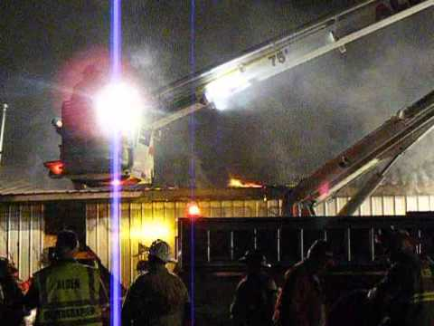 Alden (NY) Structure Fire