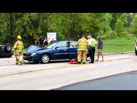 MVA Vehicle Flipped Henrietta NY 9/3/10 mcfw
