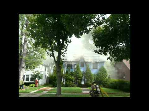 Snyder (NY) House Fire