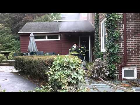 Brighton NY House Fire on Grosvenor Rd 10/7/10