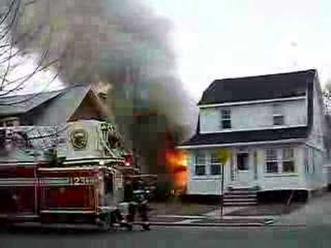 Floral Park (NY) Garage Fire