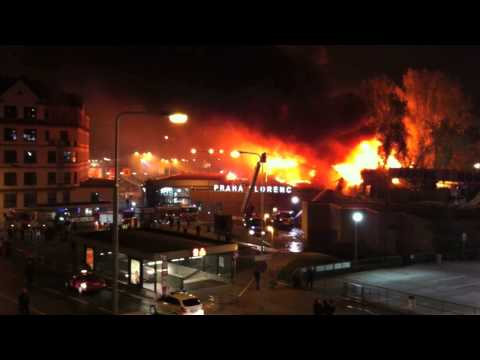 Prague Fatal Abandoned Building Fire
