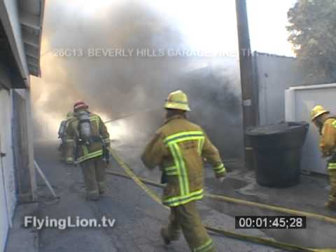 Beverly Hills Garage Fire