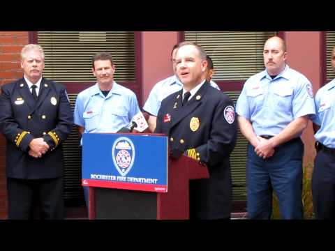 Rochester Firefighters Honored
