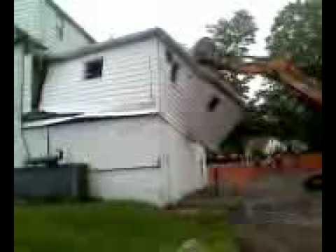 Dodgingtown Firehouse Old Addtion Demolition