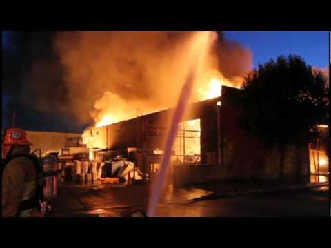 California Printing Company Fire