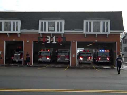 Chester Fire Ringing In The New Chief 2010 Returning