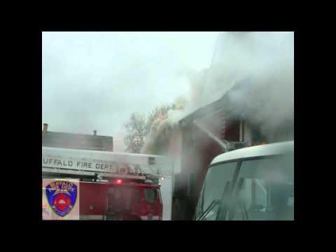 Buffalo FD 2 Alarm 264 W Delavan ave