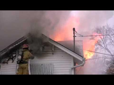 Marshall, Mo. House Fire