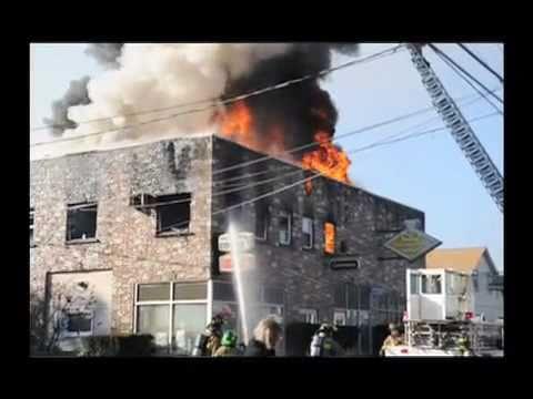 Stroudsburg (PA) Building Fire