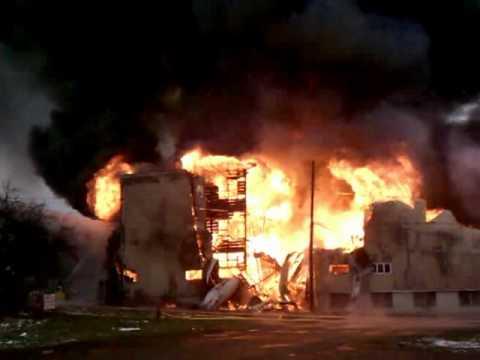 6 Alarm Fire, Union City, PA