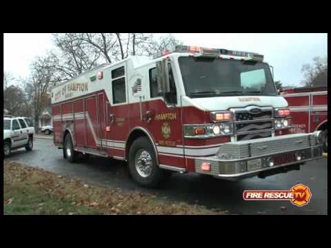 Hampton (VA) Garage Fire