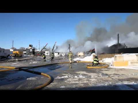 Leyden (IL) 3-Alarm Fire