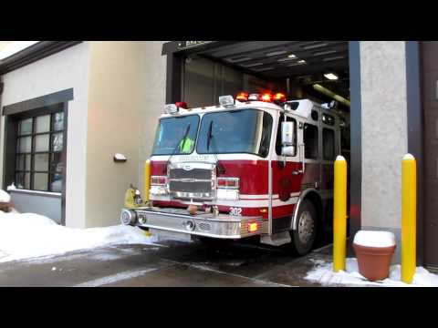 Brighton NY Engine 302 Responding on a call