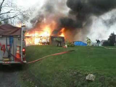 Hummelstown Fire Dept. Box 47-1 Working Fire, Truck 46