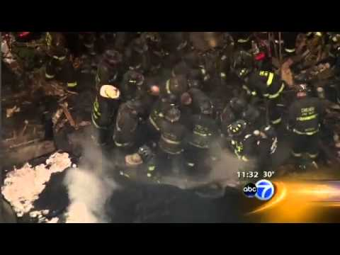 Chicago Firefighters Trapped: 2 Dead, 14 Injured
