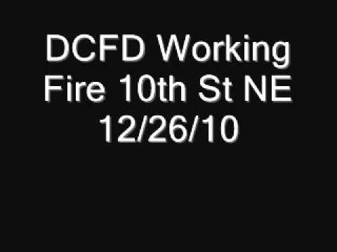 Washington, D.C. Townhouse Fire, Collapse