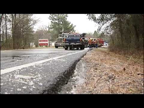 NC Fire Engine Overturns During Response