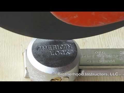 Forcible Entry: Padlocks - American Series 2000 Lock