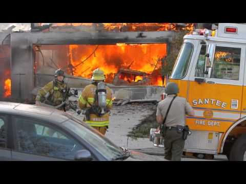 Images from Calif. Fire/Standoff