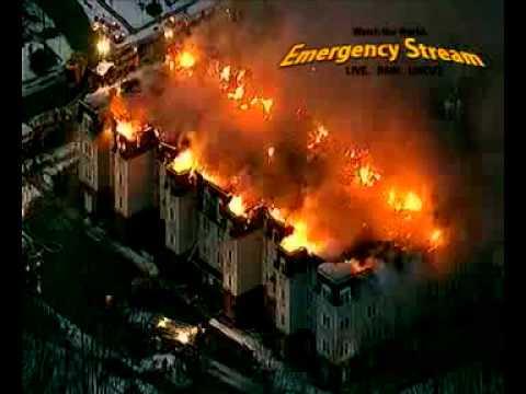4th Alarm Rahway NJ.  Condo Complex Fire